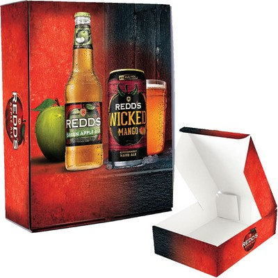 Full Color Shipping & Presentation Box W/High Gloss Laminate Finish